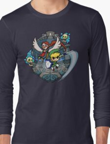 Zelda Wind Waker Earth Temple Long Sleeve T-Shirt