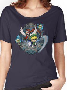 Zelda Wind Waker Earth Temple Women's Relaxed Fit T-Shirt