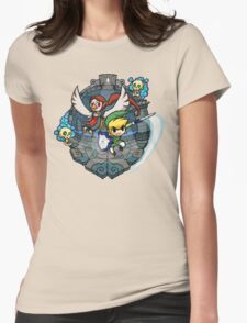 Zelda Wind Waker Earth Temple Womens Fitted T-Shirt