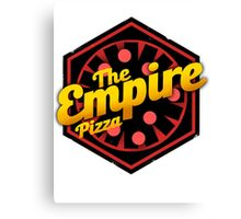 StarWars Empire Pizza! Canvas Print