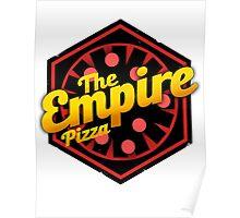 StarWars Empire Pizza! Poster