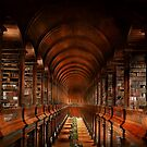 Library - The long room 1885 by Mike  Savad