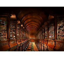 Library - The long room 1885 Photographic Print