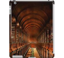 Library - The long room 1885 iPad Case/Skin