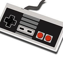 Nintendo Entertainment System Controller - Pixel by BossKnight
