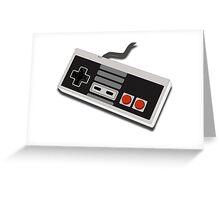 Nintendo Entertainment System Controller - Pixel Greeting Card