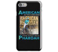 American Pharoah Horse Racing Triple Crown Winner iPhone Case/Skin