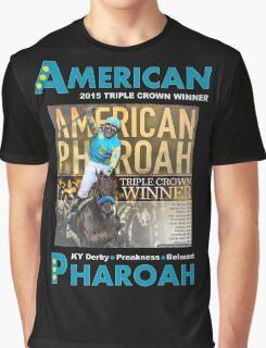 American Pharoah Horse Racing Triple Crown Winner Graphic T-Shirt