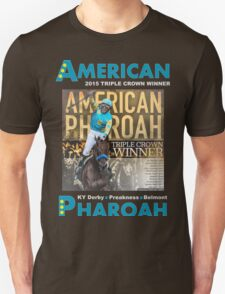 American Pharoah Horse Racing Triple Crown Winner T-Shirt