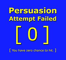 Persuasion attempt failed geek 4 fallout gamer nerd love yellow by nfisher