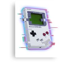 GameBoy Distort Canvas Print