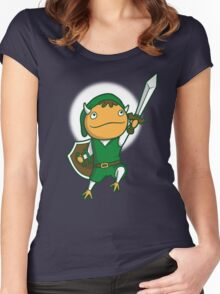 The Hero of Another World Women's Fitted Scoop T-Shirt