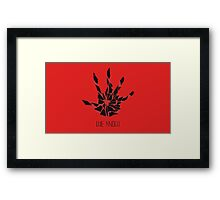 the elder scrolls the dark brotherhood Framed Print