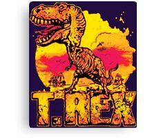 T-Rex Tyrannosaurus Rex Canvas Print