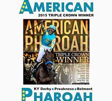 American Pharoah Horse Racing Triple Crown Winner Unisex T-Shirt