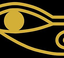 Eye of Horus by Omar Dakhane