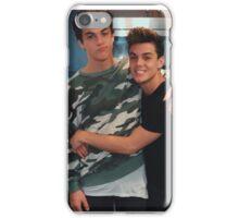 Dolan twins hugging iPhone Case/Skin