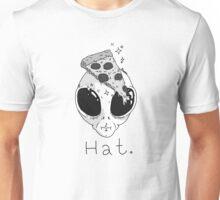 Alien Pizza Hat Unisex T-Shirt