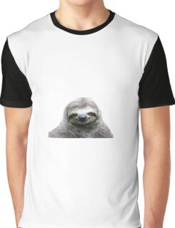 Smiling Sloth Graphic T-Shirt