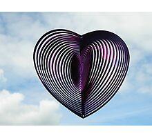 heart on a string Photographic Print