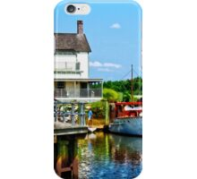 Docked Boats iPhone Case/Skin