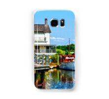 Docked Boats Samsung Galaxy Case/Skin