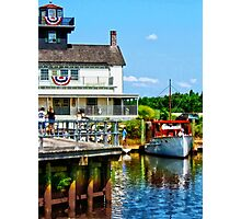 Docked Boats Photographic Print