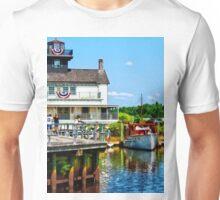 Docked Boats Unisex T-Shirt