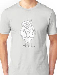 Alien Pizza Hat (white Only) Unisex T-Shirt