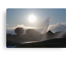 Sprinklers On The Old Course Canvas Print