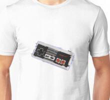 Nes Controller Distort Unisex T-Shirt