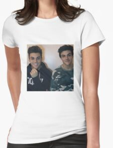 Dolan twins :D Womens Fitted T-Shirt