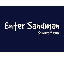 Enter Sandman! Photographic Print