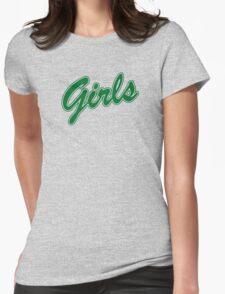 Girls Sweatshirt - Friends (green) Womens Fitted T-Shirt