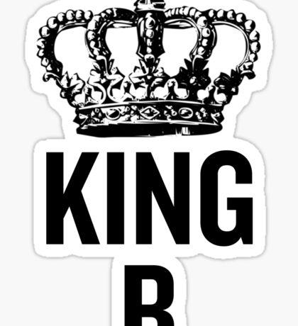 King B Sticker