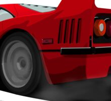 Ferrari F40 Sticker