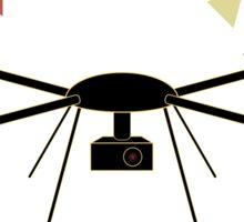 Dron Attack Sticker