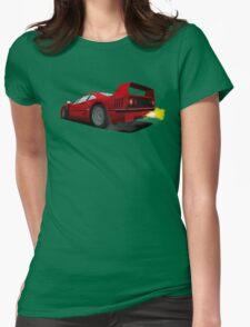 Ferrari F40 Womens Fitted T-Shirt