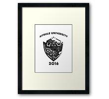 Hyrule University 2016 Framed Print