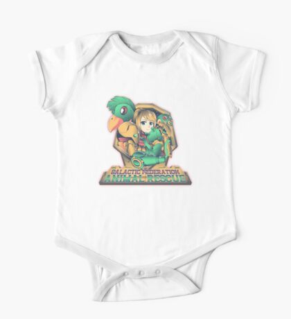 Animal Rescue One Piece - Short Sleeve