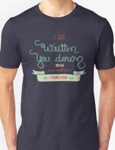 Blue Poet Unisex T-Shirt