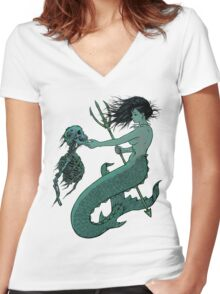 From the Bottom Women's Fitted V-Neck T-Shirt