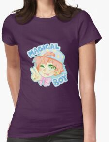 Magical Boy Womens Fitted T-Shirt