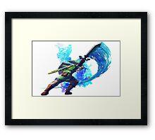 Legend of Zelda Link Framed Print