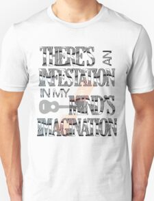 There's an infestation in my mind's imagination ~ Twenty-One Pilots T-Shirt