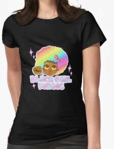 Black Girl Magic Womens Fitted T-Shirt