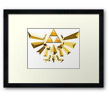 Triforce LoZ Framed Print