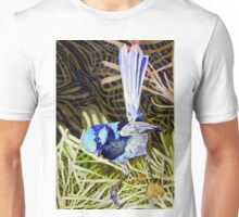 Superb Fairy Wren 2 Unisex T-Shirt
