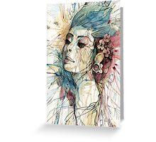 Natural Fashion // Lady Greeting Card