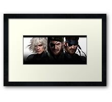 Metal Gear Trio  Framed Print